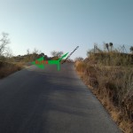 cruce ermita subida asfalto