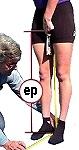 medida entre pierna