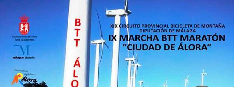 "IX Maratón BTT ""Ciudad de Álora"""